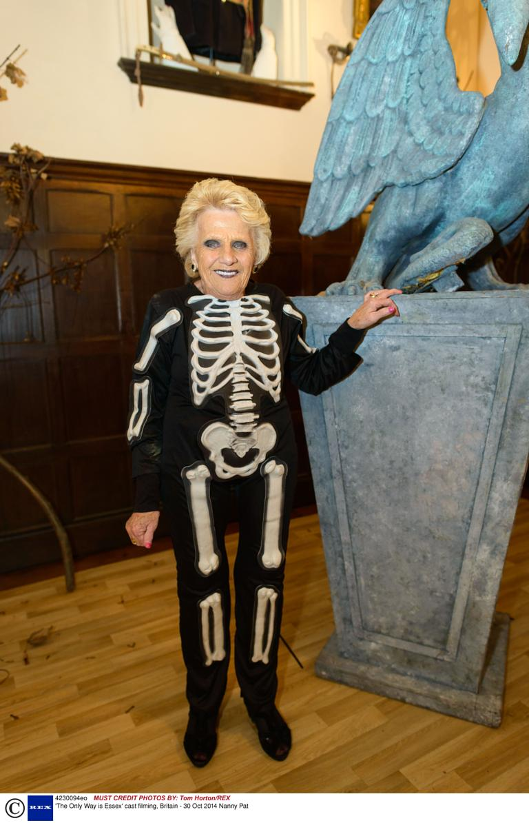 TOWIE's Nana Pat has the best Halloween outfit in Essex