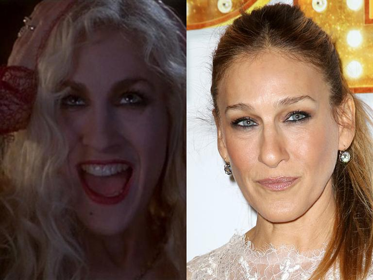 the cast of hocus pocus then now sarah jessica parker
