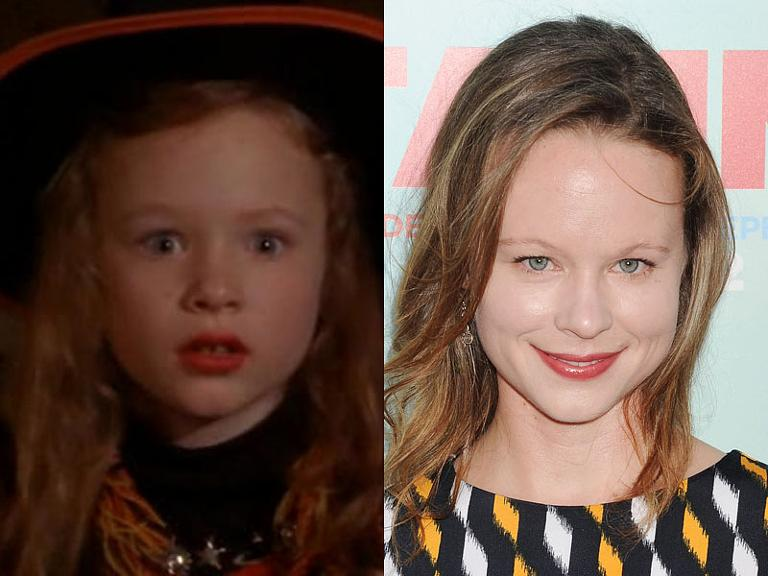 The cast of Hocus Pocus then & now: Thora Birch