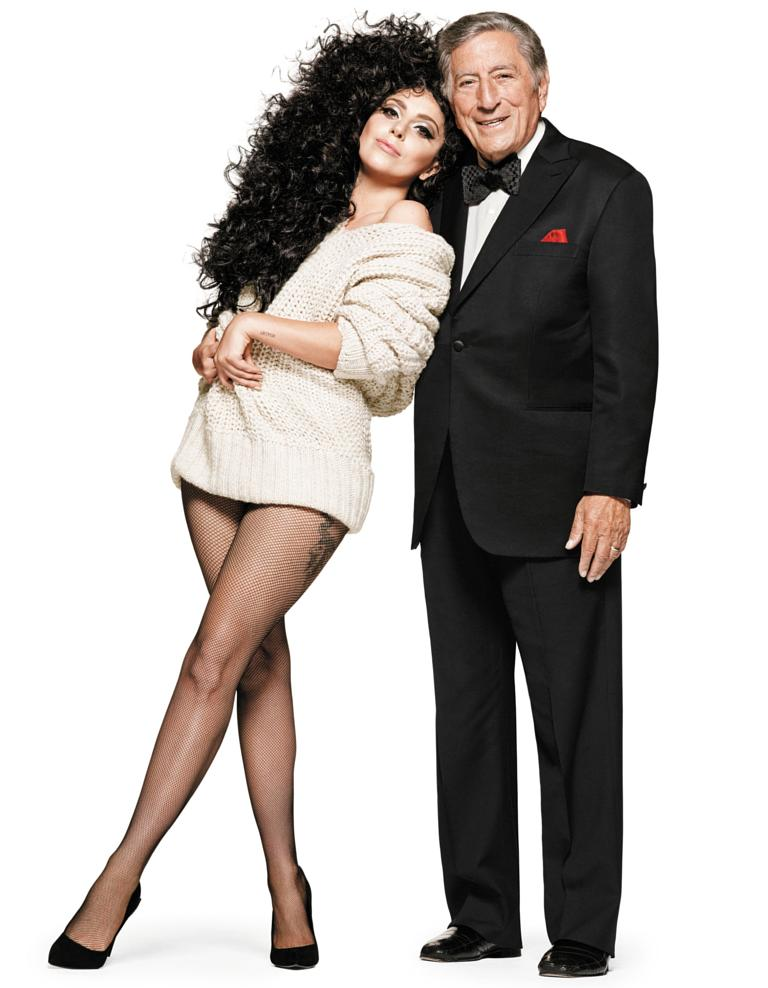 lady gaga tony bennett for hms holiday campaign