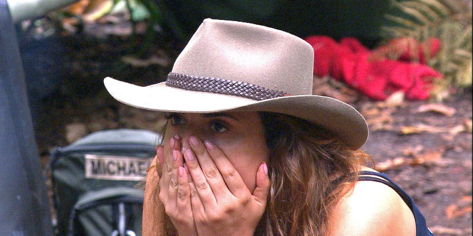 I'm a Celebrity's Nadia Forde looks HOT as she strips down ...