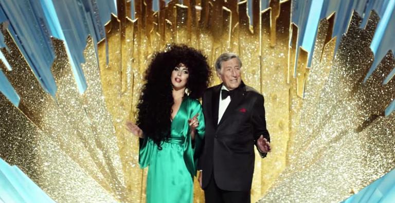 Watch Lady Gaga and Tony Bennett in glitzy H&M Christmas TV advert