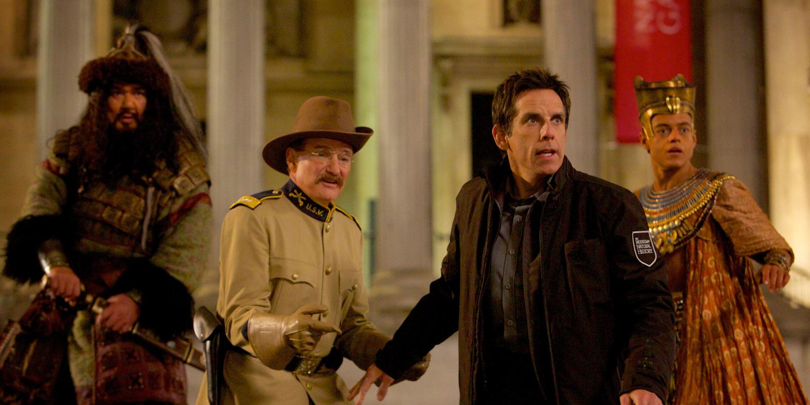 ben stiller throws a bone in night at the museum secret of the tomb clip