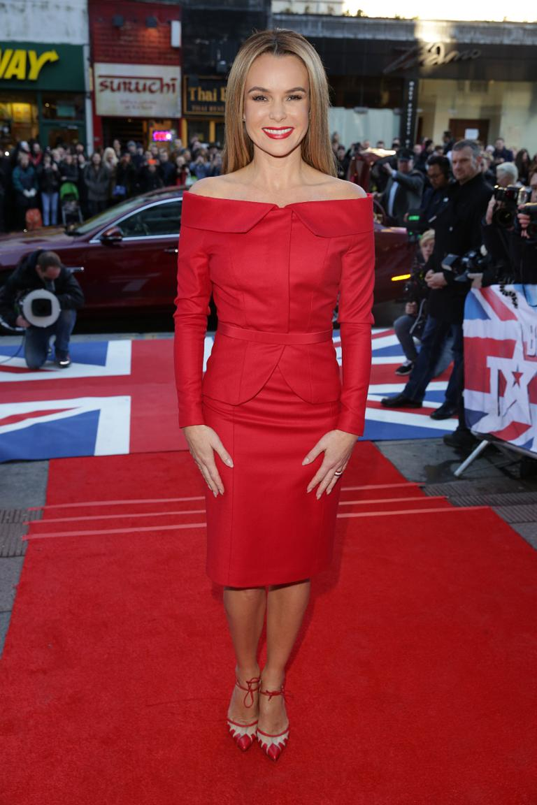 Amanda Holden's Red Marks Spencer Ensemble Is Perfect For The Festive Party Season recommend