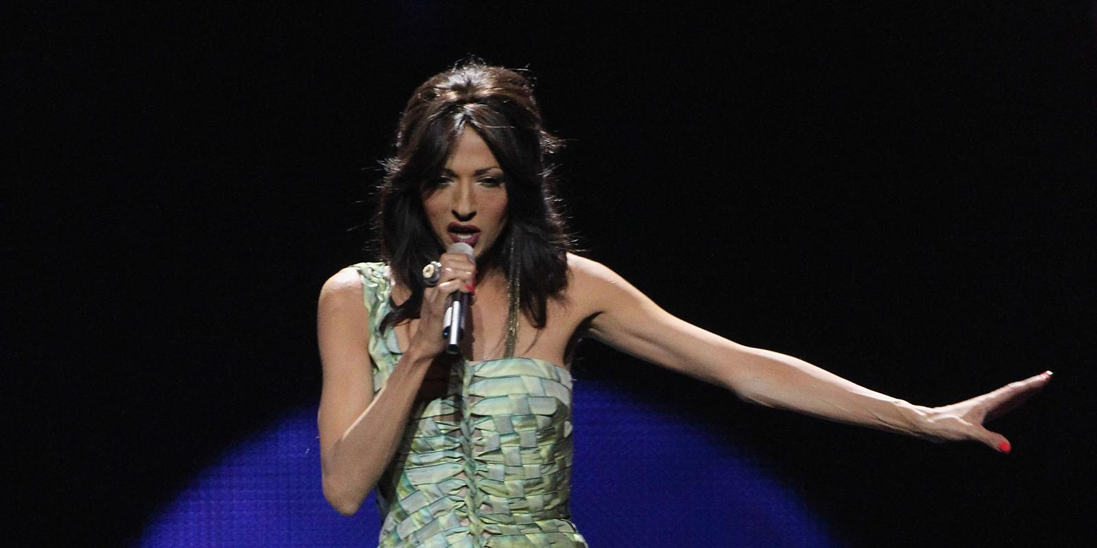 Conchita wurst and dana international in eurovision first star - Conchita Wurst And Dana International In Eurovision First Star 0