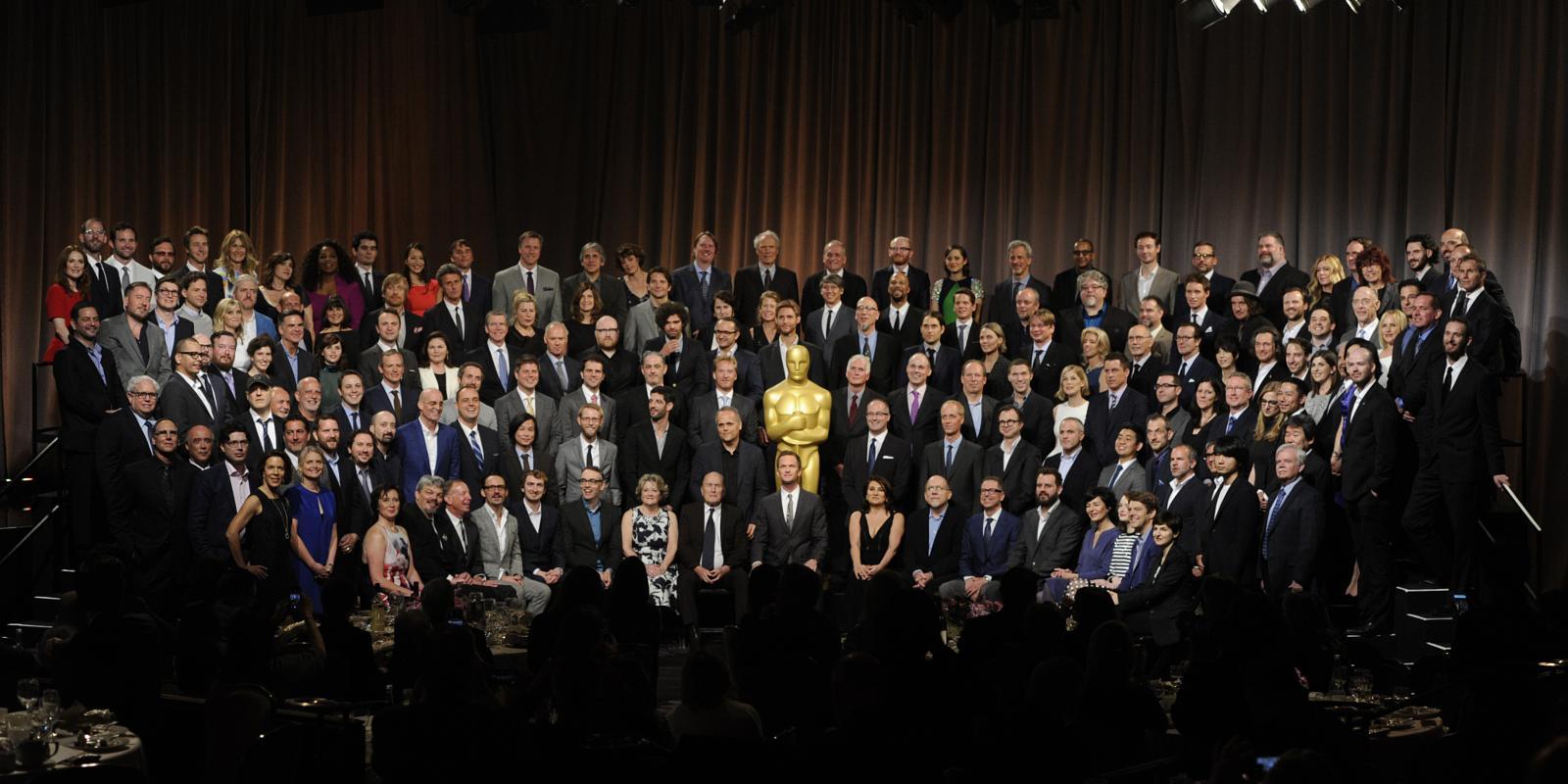 Oscar nominees class photo