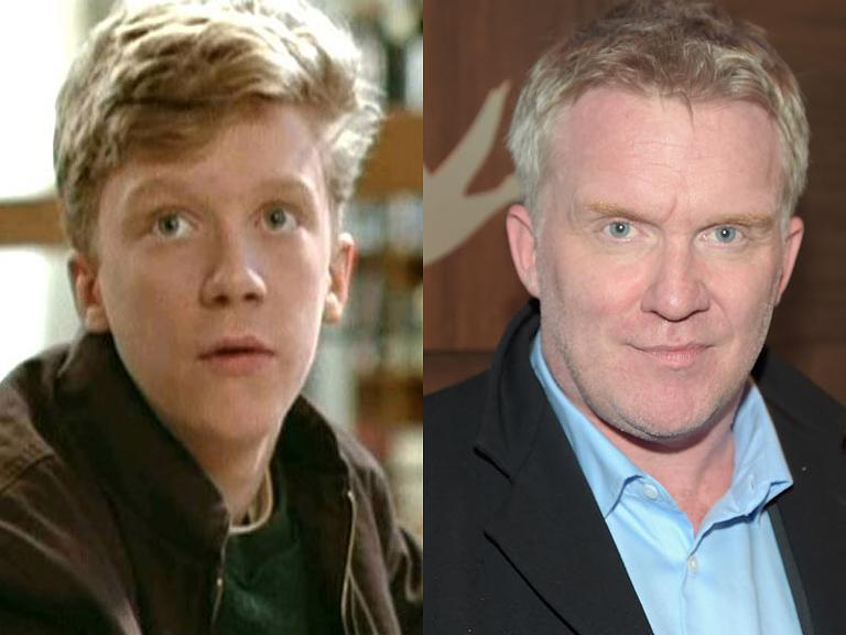 the cast of the breakfast club then now anthony michael hall - Christmas Story Cast Then And Now