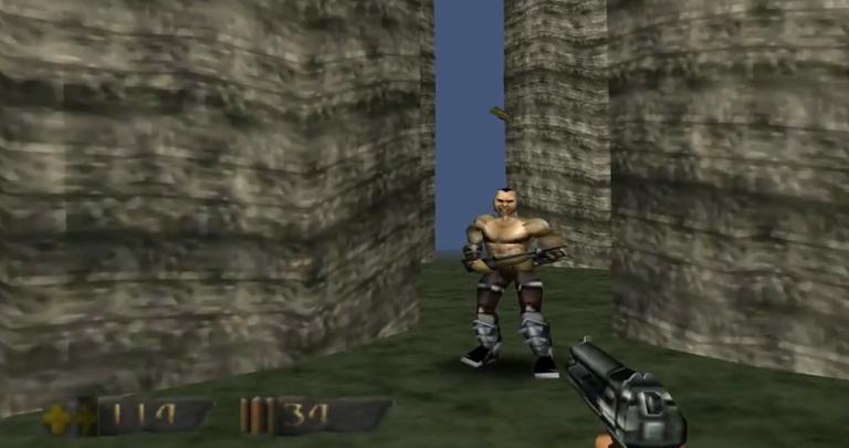 turok dinosaur hunter retrospective the n64 s gun and dino classic