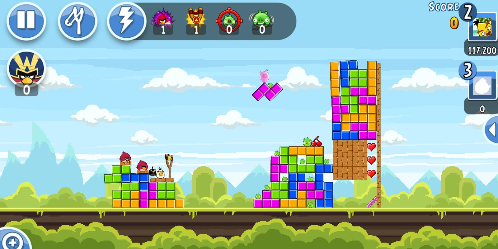 Angry birds 2 review 5 reasons why fans should flock to the sequel angry birds retro inspired levels voltagebd Gallery