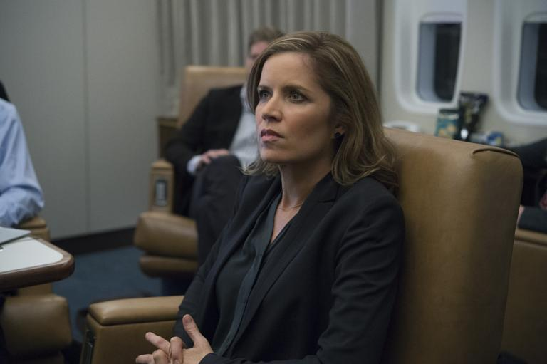 Kim Dickens In House Of Cards Season 3