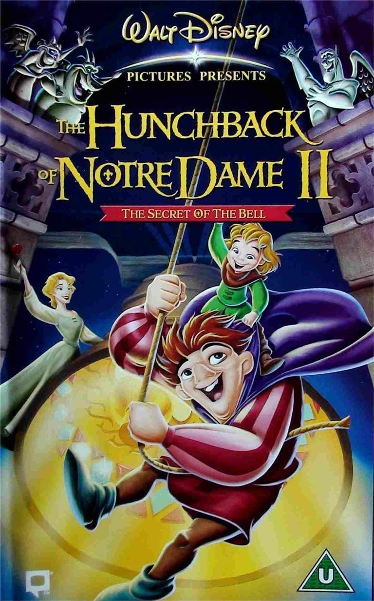 دانلود انیمیشن گوژپشت نوتردام 2 The Hunchback of Notre Dame 2 2 2000 دوبله فارسی