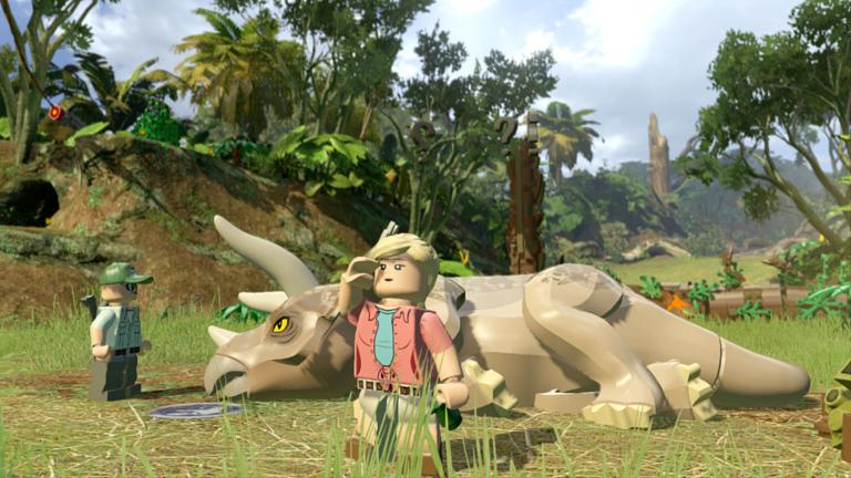 Lego jurassic world review uninspiring incredibly safe entry in lego jurassic world is a lego take on the four jurassic park films gumiabroncs Image collections
