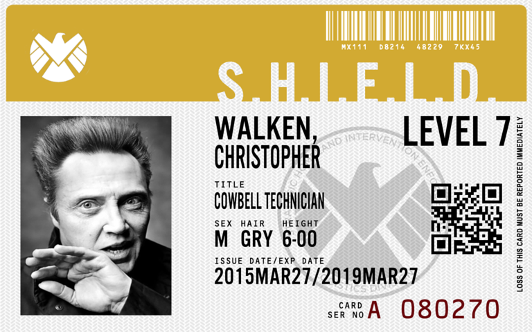 App allows you to make your own Agents of SHIELD ID badge