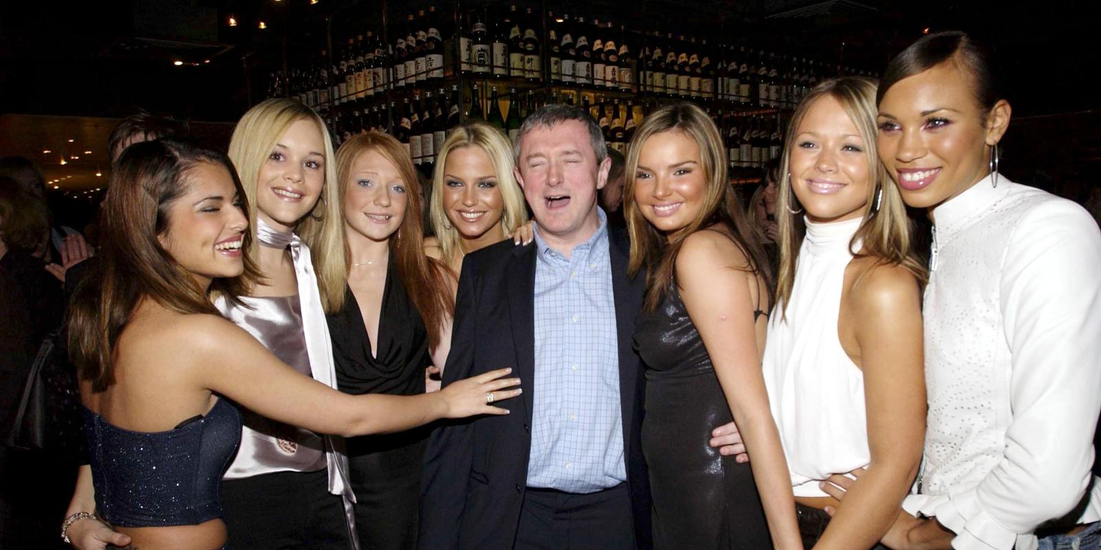 Image result for louis walsh girls aloud