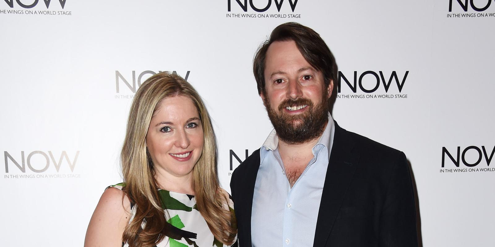 David Mitchell And Victoria Coren Have A Baby We Re Extremely Hy Sleepy