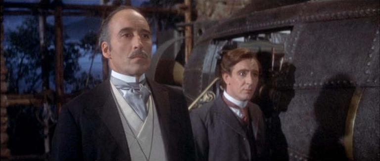 Christopher Lee in The Private Life of Sherlock Holmes (1970)
