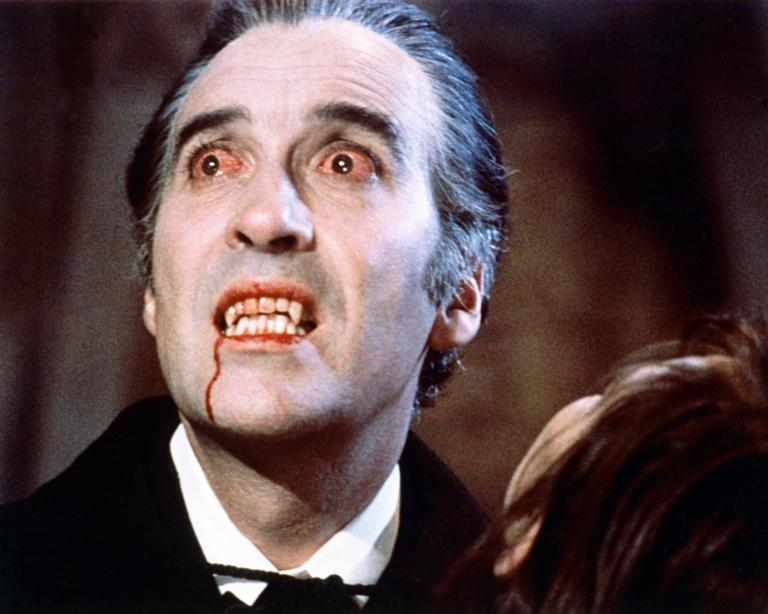 Christopher Lee in Dracula (1958)