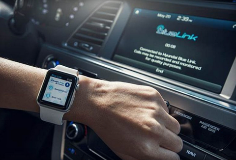 Hyundai\'s Apple Watch app lets you talk to your car like Knight Rider