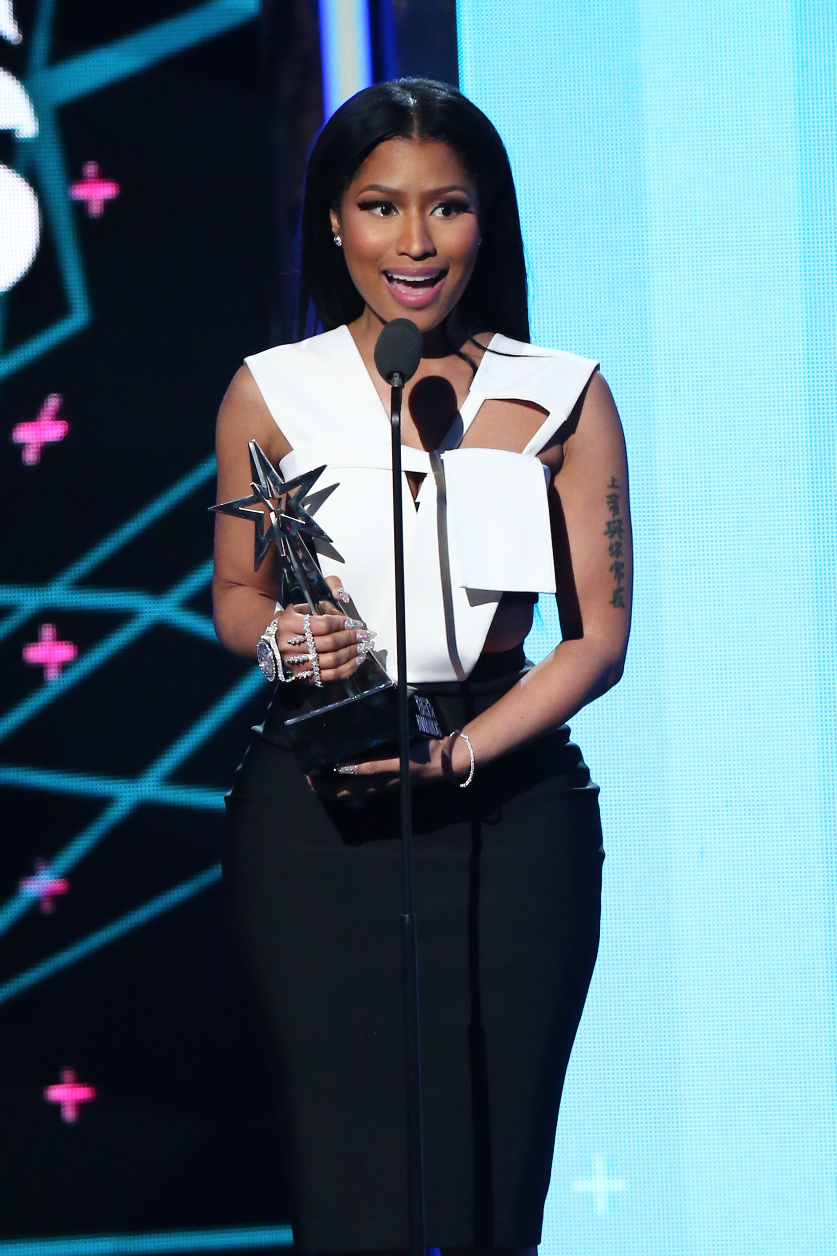 Nicki Minaj blasts her