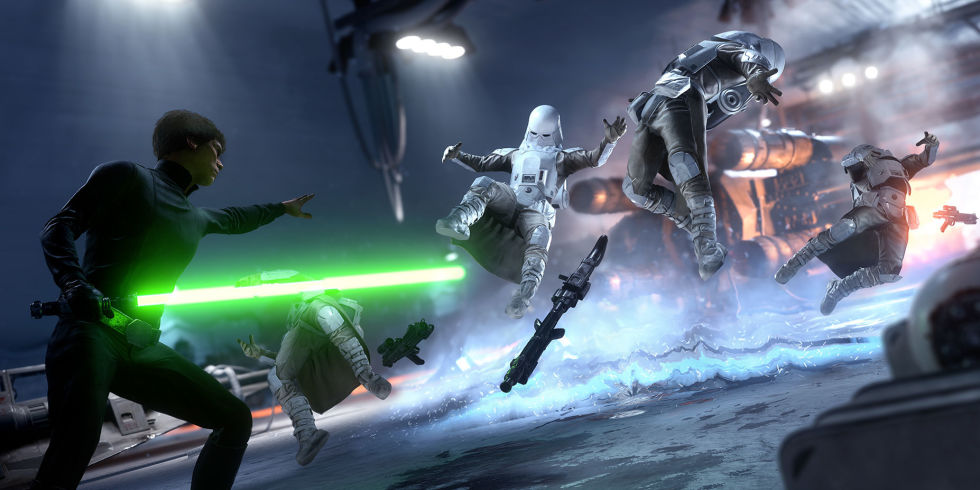 Star Wars Battlefront runs at a smooth 60fps on PS4
