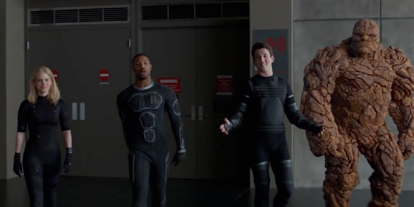 Why isn't The Thing wearing any pants? Fantastic Four's ...