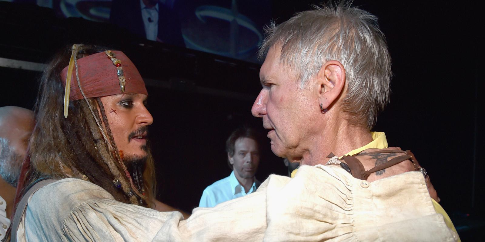 See A Baffled Harrison Ford Come Face To Face With Johnny