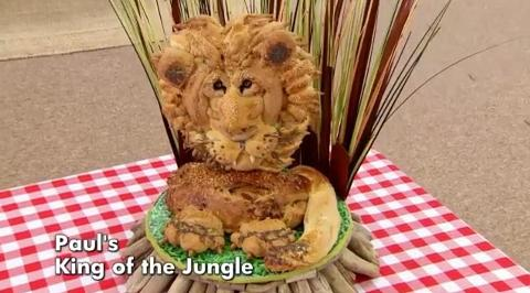 Paul Jagger 39 S Lion On The Great British Bake Off