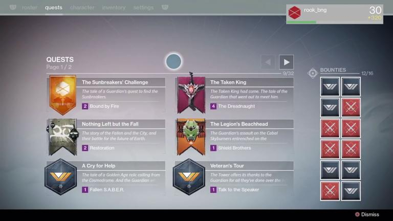 Everything you need to know about destiny the taken kings new destiny the taken king quests and bounties malvernweather Images