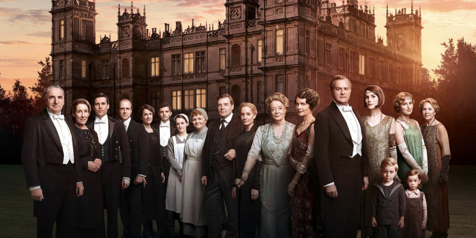 The cast of Downton Abbey series six