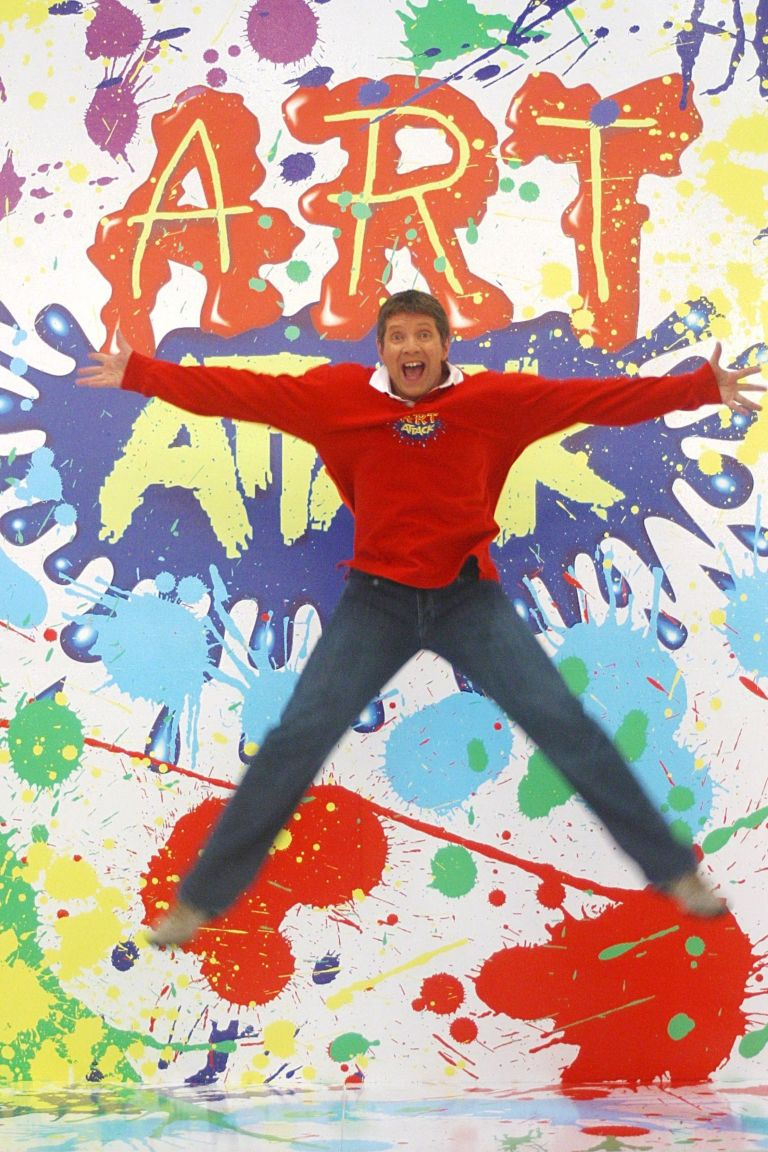9 reasons why we still love art attack and neil buchanan neil buchanan presenting art attack solutioingenieria Images