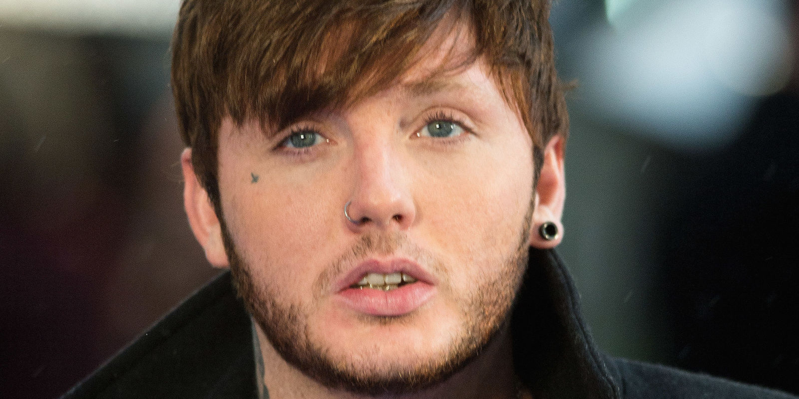 James Arthur shows off new style, face tattoo at X-Men