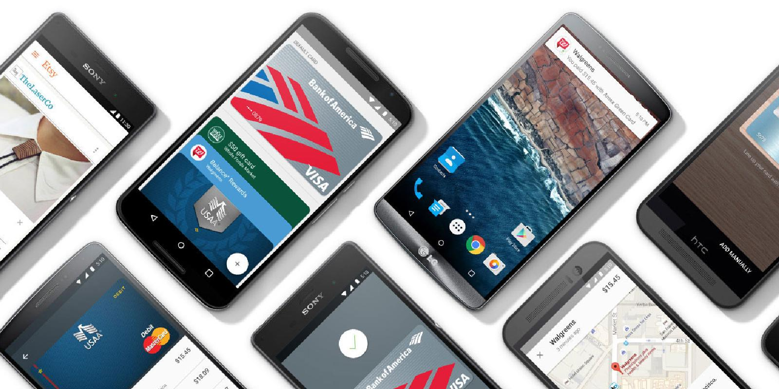 Android Pay launches in the US as Google's latest Apple ...