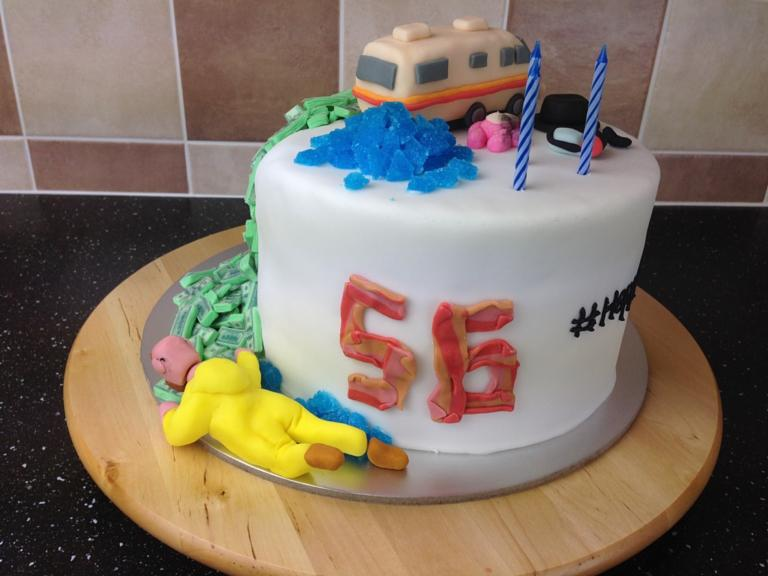 Birthday Cake With Name Jimmy ~ Happy th birthday walter white breaking bad birthday cake is a