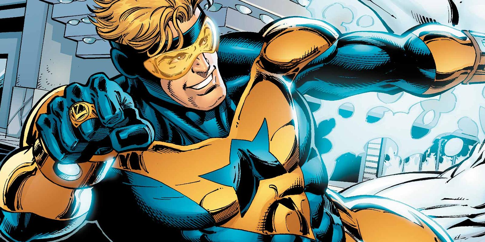DC is making a Booster Gold movie with the team behind The Flash TV show