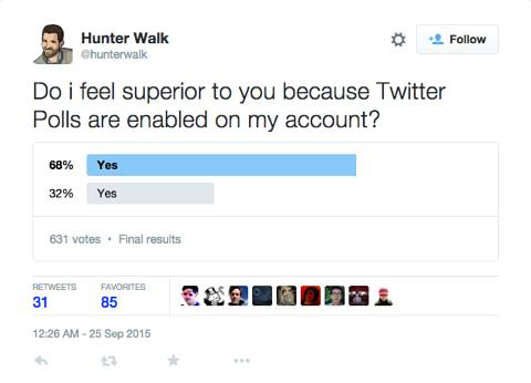 Twitter Polls Are A Thing For Some Users On A Trial Basis