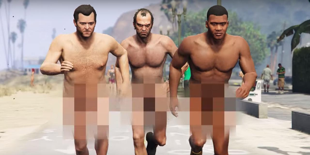 Nudity in gta adult photo