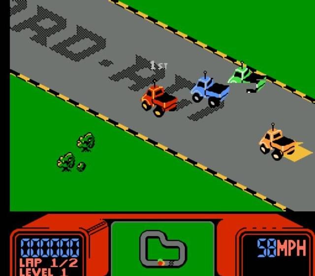 RC Pro-AM for NES screenshot