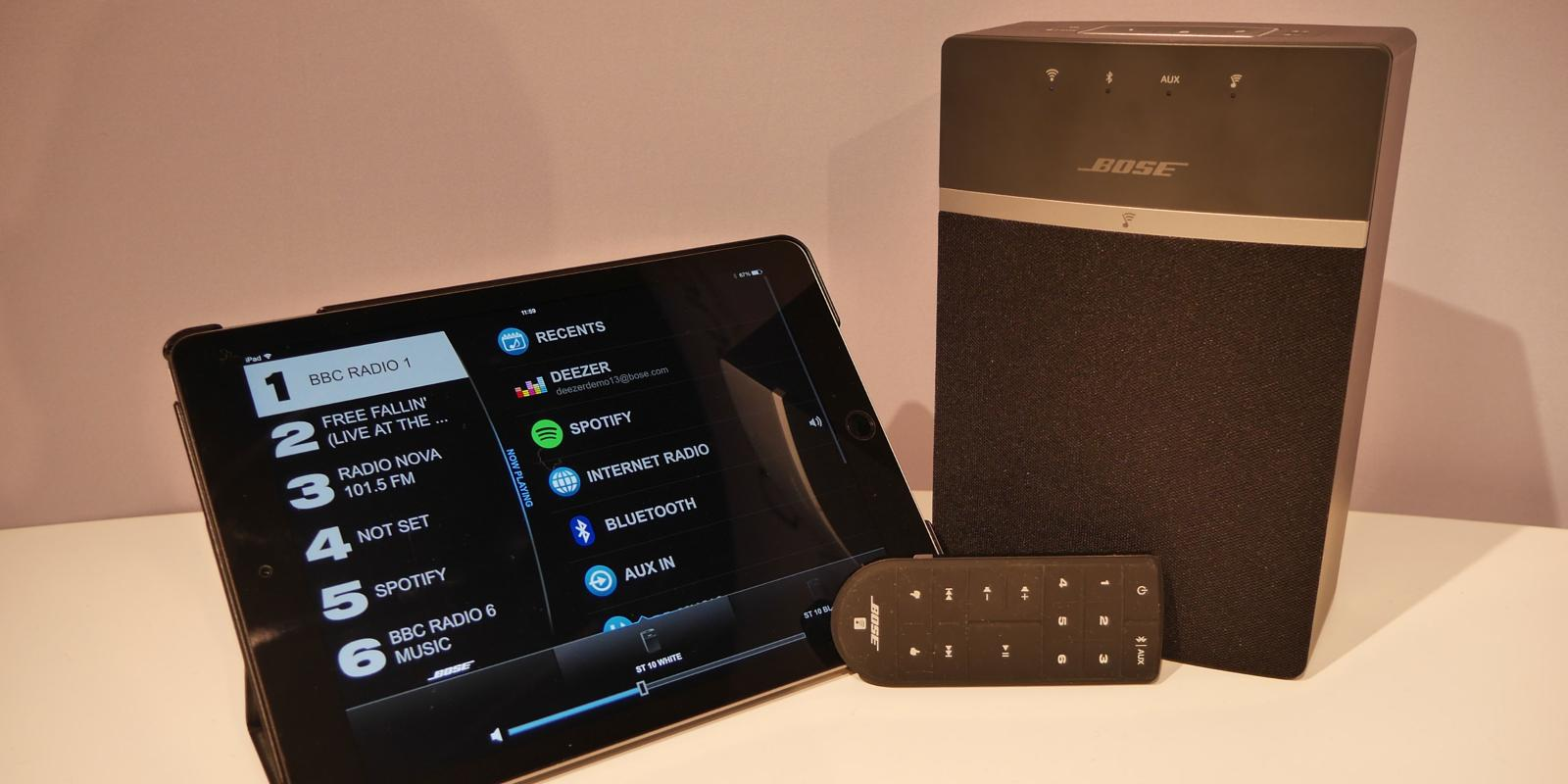 new bose soundtouch 10 multiroom speaker unveiled with. Black Bedroom Furniture Sets. Home Design Ideas