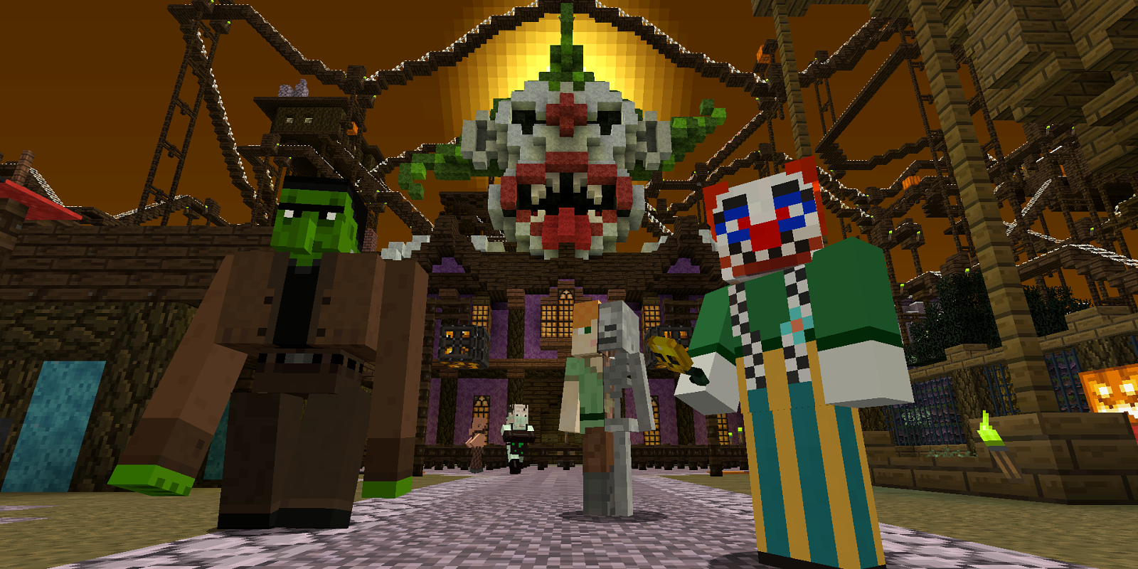 Minecraft is getting new Halloween-themed DLC this week