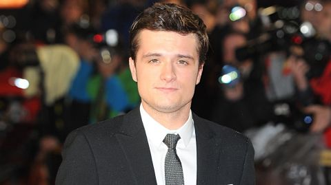 Josh hutcherson im dying to meet emma watson josh hutcherson at the world premiere of the hunger games catching fire at the m4hsunfo