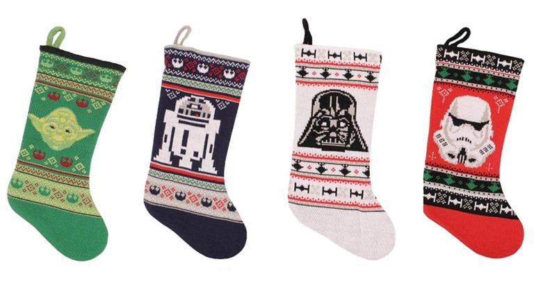 These are the Star Wars Christmas stockings you're looking for