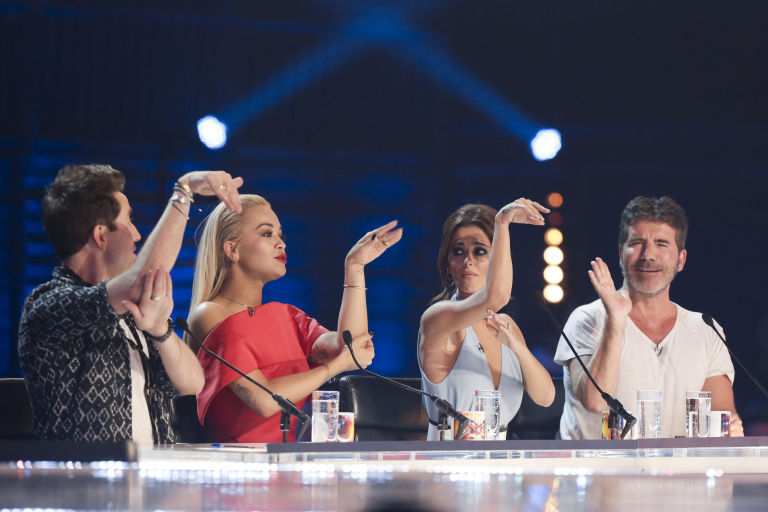 the x factor 2015 six chair challenge for the boys and groups