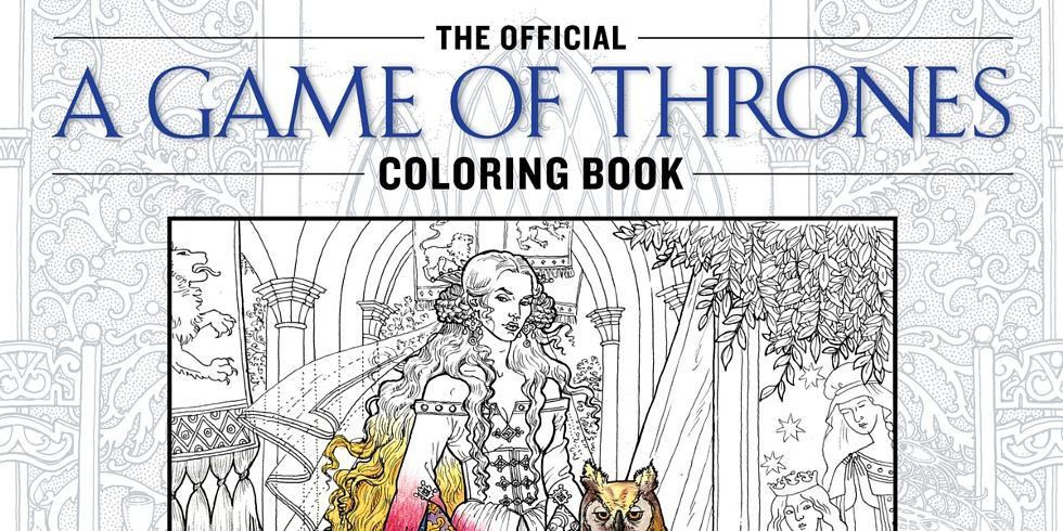 83 A Game Of Thrones Colouring Book By Harper Voyager