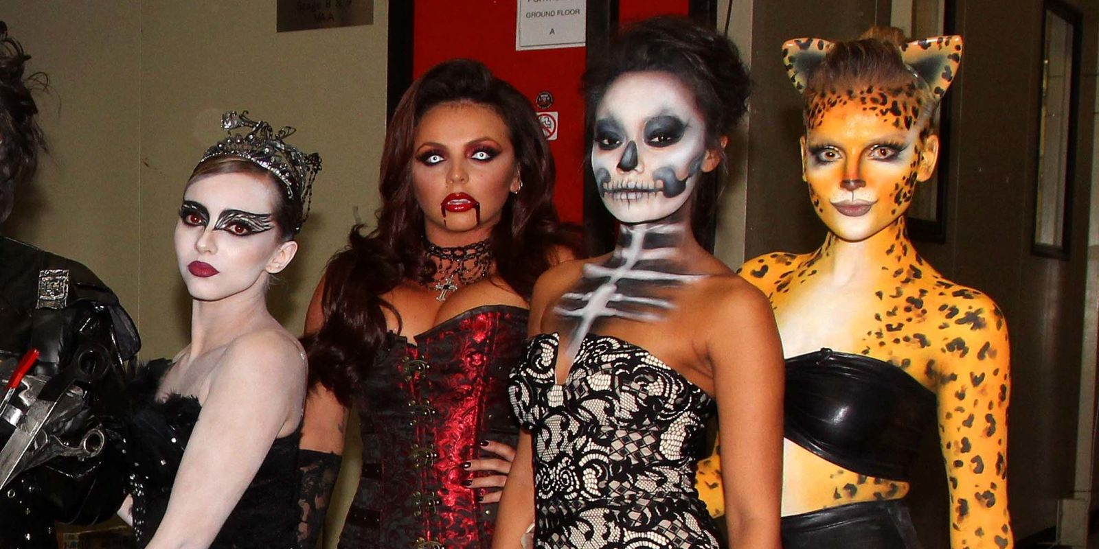 Little Mix show off their amazing Halloween costumes on Celebrity ...