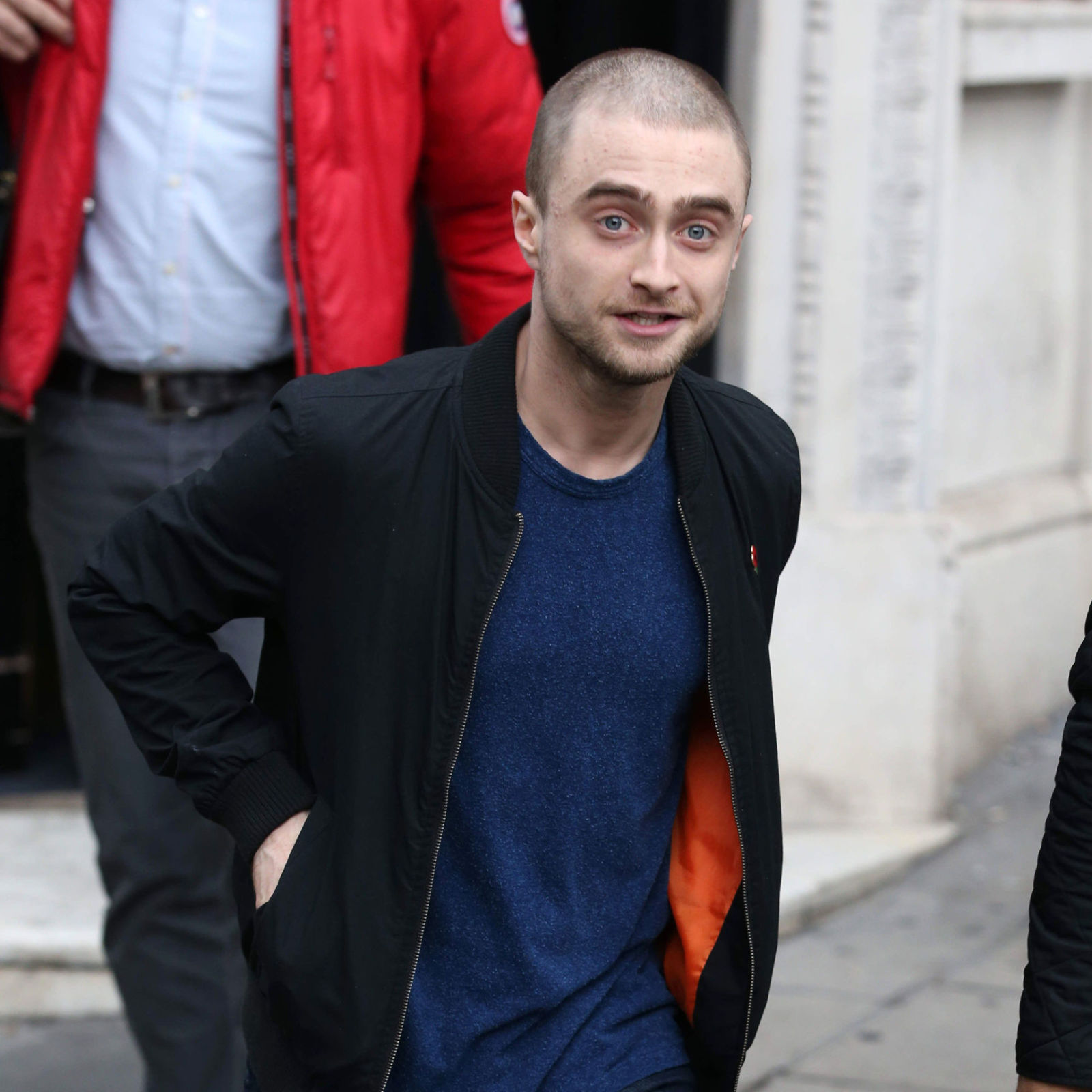 Daniel radcliffe has cut off all his hair for his new role in imperium pmusecretfo Choice Image