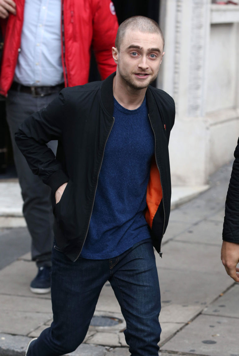 Daniel Radcliffe Has Cut Off All His Hair For His New Role In Imperium