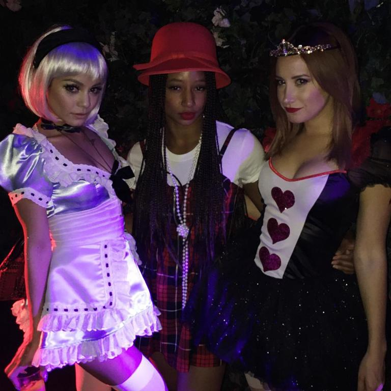 The High School Musical gang have a Halloween reunion