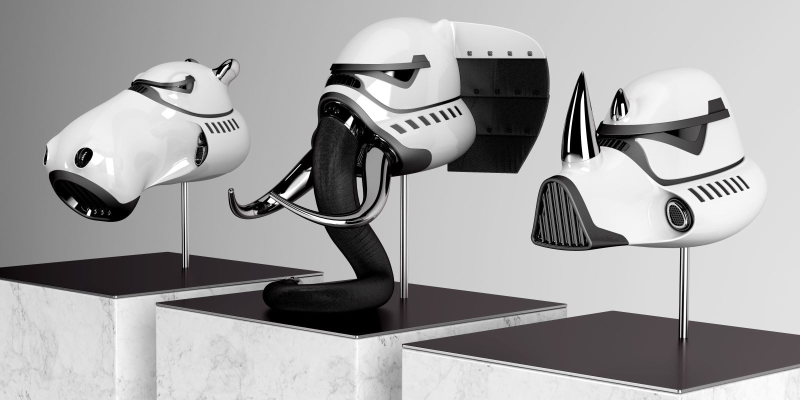 if star wars stormtroopers were animals this is what their. Black Bedroom Furniture Sets. Home Design Ideas