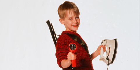 Christopher columbus only ended up directing home alone for Wallpaper home alone