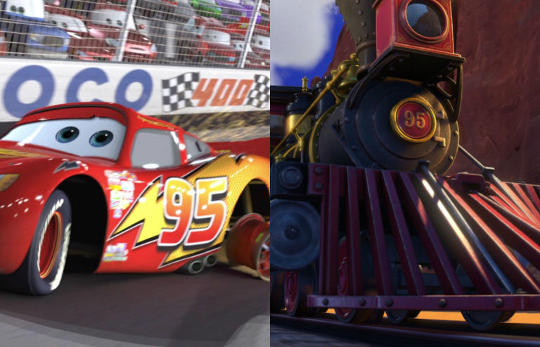 cars toy story 3 95 easter egg - Easter Egg Images 3